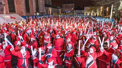 Santa Walk trekt al voor achtste keer door de stad