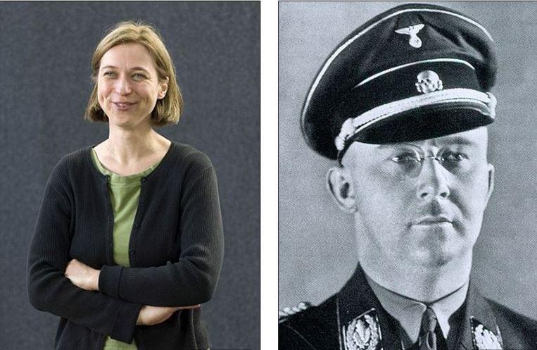 """Katrin Himmler, achternicht van SS-baas Heinrich Himmler, trouwde met een Israëlische Jood en maakt zich zorgen over """"de dag dat ik mijn zoon over zijn grootoom Heinrich zal moeten vertellen""""."""