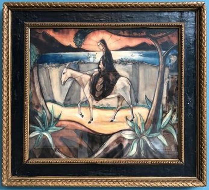 Femme Corse, werk van Lodewijk Schelfhout