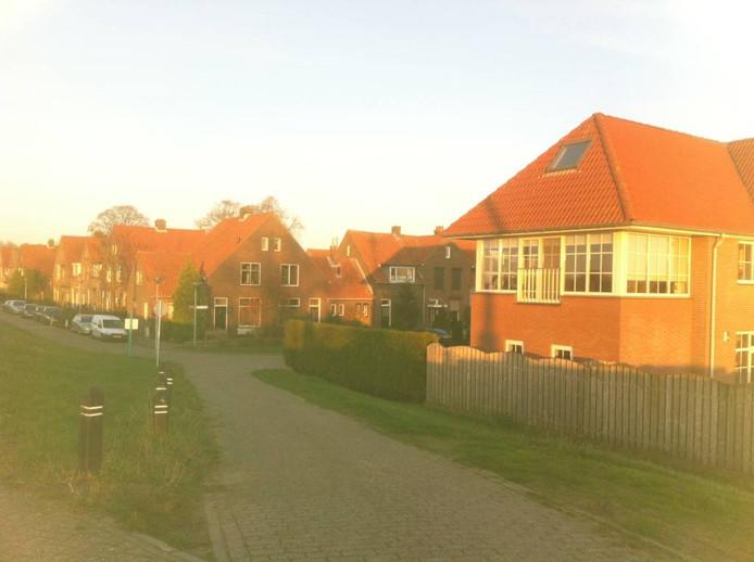 Woningen in Tuindorp.