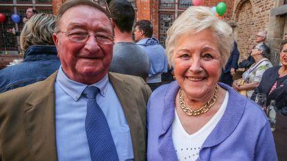 """Jenny en Roland eregasten op aftrap Paasfoor:  """"65 jaar geleden werden we verliefd bij de botsauto's"""""""