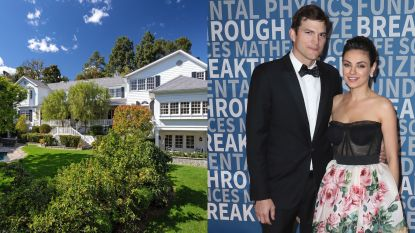 BINNENKIJKEN. Ashton Kutcher & Mila Kunis verkopen hun villa voor slordige 14 miljoen dollar