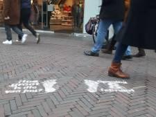 Ondeugende vraag op straat in Deventer: 'Hoe groot is die van jou?'