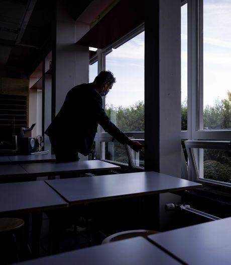 Zorgen om ventilatie in scholen? Het 'Willem' houdt alle ramen open en een CO2-meter paraat
