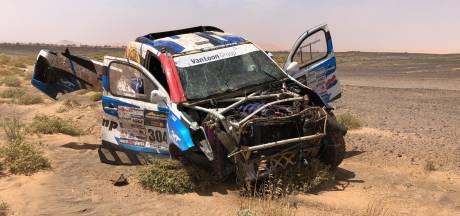 Zware crash Van Loon in Morocco Desert Challenge, rally voorbij