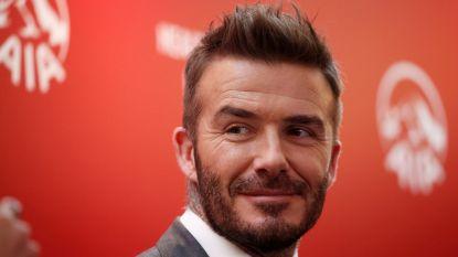 David Beckham mag mee op tournee met Harry en Meghan