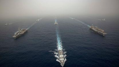 """VS stellen oorlogsschip op in Midden-Oosten na """"mogelijk Iraanse aanslag op Amerikaanse troepen"""""""