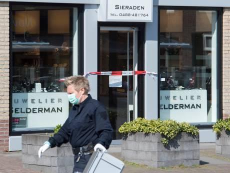 Onderzoek overval juwelier Kesteren naar Utrecht; overeenkomsten met berovingen Veenendaal