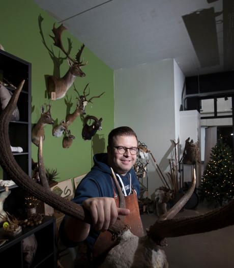 Leendert Houweling winnende jonge onderneming bij Business Event Ede