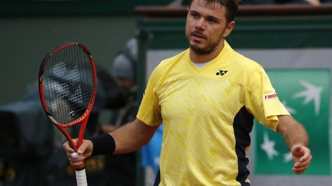 Stanislas Wawrinka laat zich verrassen door Garcia-Lopez