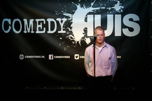 Stand-up comedian Henk Doedens.