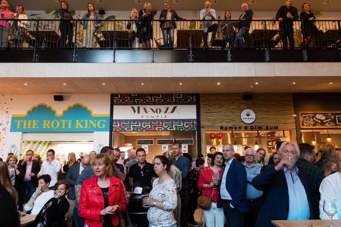 Breda - Pix4Profs/René Schotanus. Opening foodhall Breda.