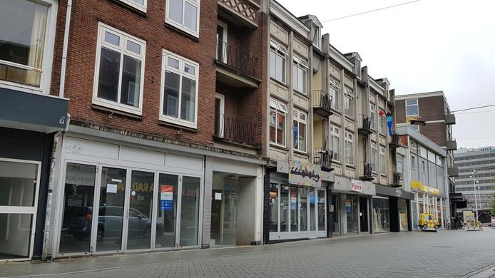 Welbions heeft lege winkelpanden in de Nieuwstraat gekocht.