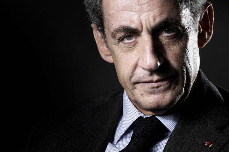 Voormalig Frans president Nicolas Sarkozy.