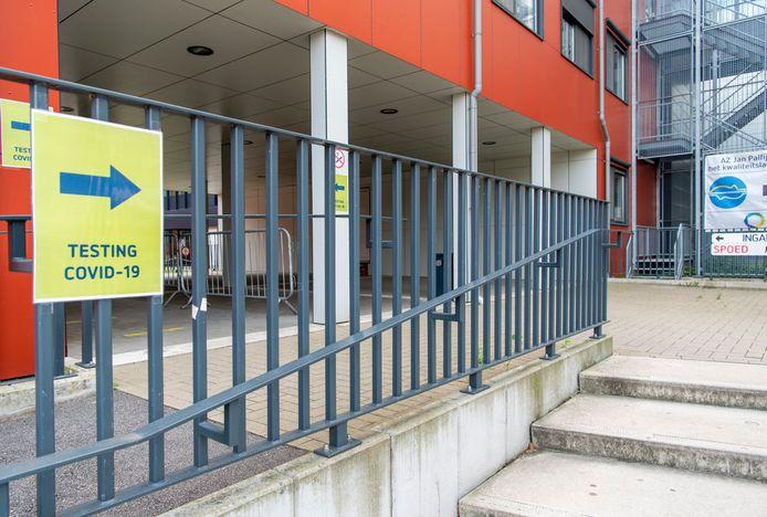 Vanaf zaterdag kunnen de Gentse kotstudenten na een hoogrisicocontact zonder voorschrift naar het testcentrum op de site van het AZ Jan Palfijn.
