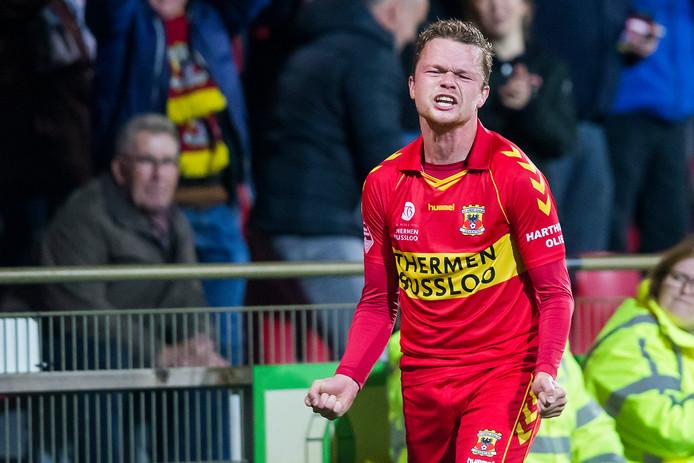 GA Eagles-speler Pieter Langedijk