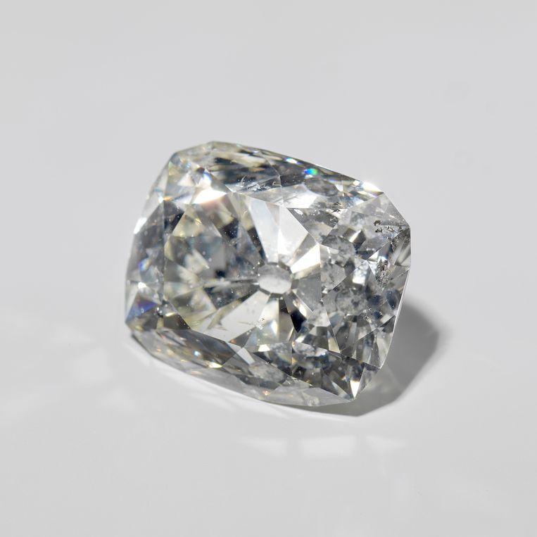 De diamant van Banjarmasin was oorspronkelijk in het bezit van de sultan van Banjarmasin (nu een stad op het Indonesische eiland Borneo). Tegenwoordig wordt de diamant gezien als een voorbeeld van oorlogsbuit. Beeld Rijksmuseum