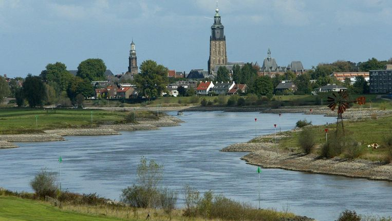 De IJssel bij Zutphen Beeld anp