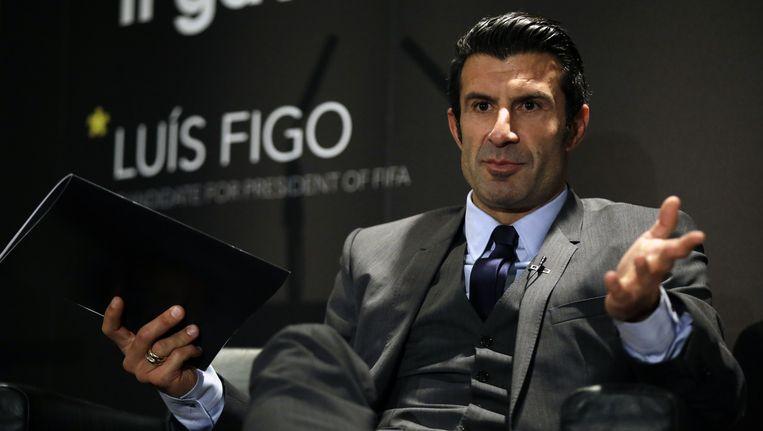 Luis Figo. Beeld ap
