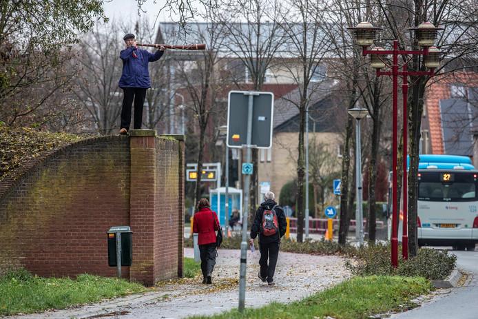 Midwinterhoornblazen in Doesburg.