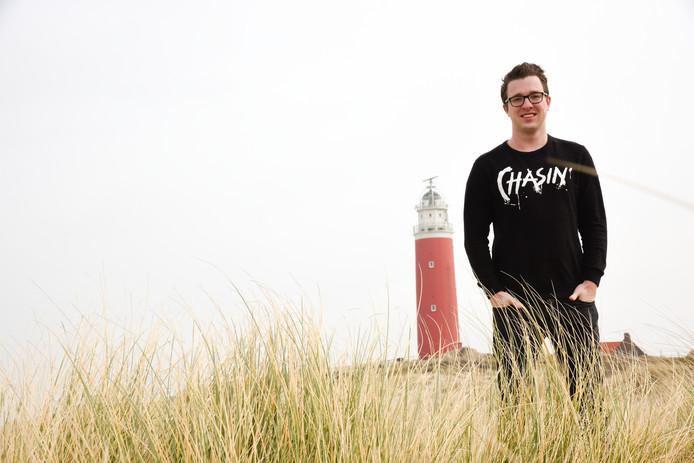 Internetondernemer Dennis van der Kooi.