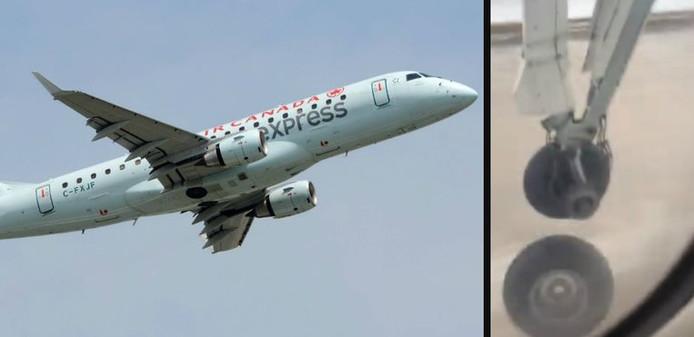 L'avion qui devait relier Montréal à Bagotville a été obligé de faire demi-tour.