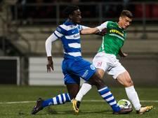De Graafschap schiet niets op met punt bij FC Dordrecht