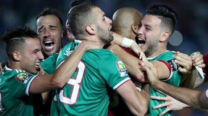 Algerije na strafschoppen naar halve finale Africa Cup, Tunesië maakt einde aan sprookje Madagaskar