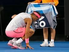 Geblesseerde Nadal geeft op tegen Cilic