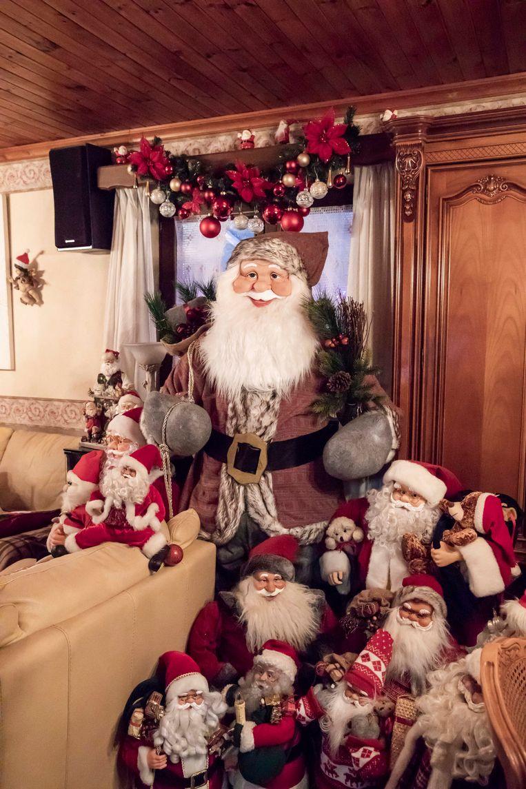 Aan kerstmannen geen gebrek