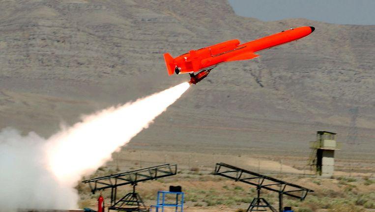 Een Iraanse drone. Beeld uit 2010. Beeld EPA