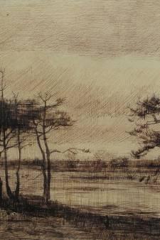 Tekende Vincent van Gogh dit ven in Stiphout?
