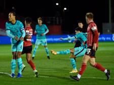 Liverpool haalt uit in League Cup, ook Manchester City naar vierde ronde