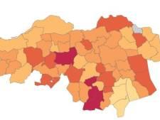 Coronapiek in Bergeijk en Eersel, ook flinke toename in Best, Deurne en Eindhoven