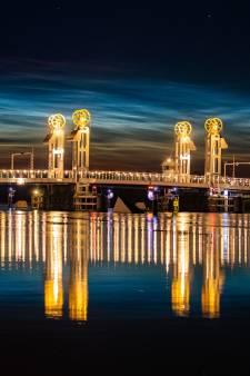 Bijzondere 'lichtende nachtwolken' zorgen voor spectaculaire beelden