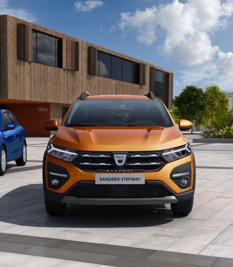 Nieuwe Dacia Sandero nog meer gezinsauto: ruimer op de achterbank