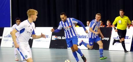 Zaalvoetballers FC Eindhoven pakken laatste strohalm