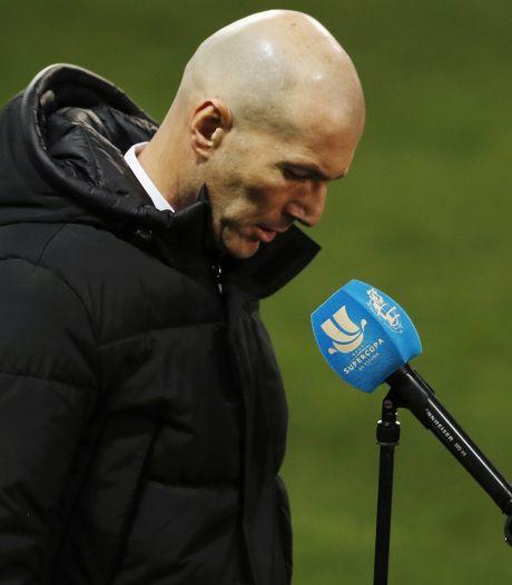 Real Madrid zonder besmette Zidane naar uitwedstrijd bij Alavés