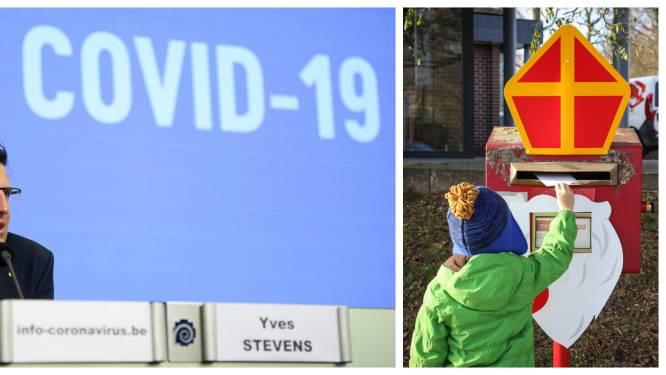 """Crisiscentrum roept op om niet samen te komen naar aanleiding van komst van de Sint: """"Respecteer ook op 6 december de richtlijnen"""""""