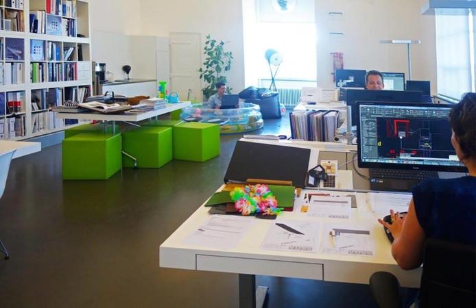 Alternatief voor bureau op kantoor.