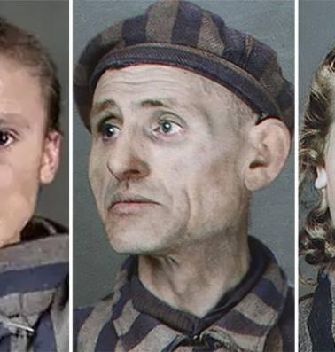 Kunstenares geeft slachtoffers Auschwitz en hun verhalen kleur