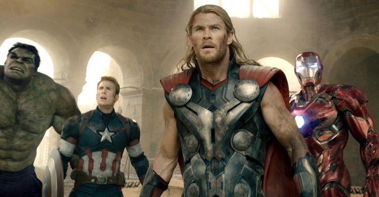 Een beeld uit 'Avengers: Age Of Ultron'.