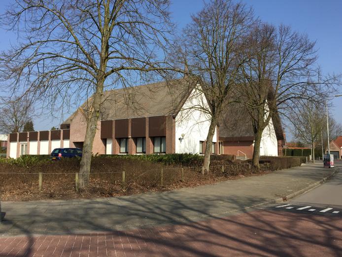 De kerk van de Gereformeerde Gemeente in Kruiningen.