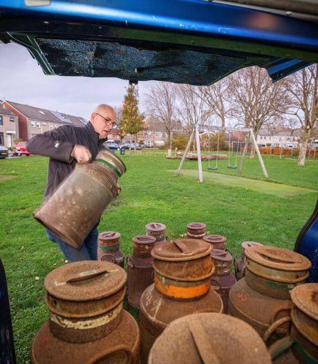 Verkoop carbid en melkbussen geëxplodeerd: spullen bij uitladen al verkocht