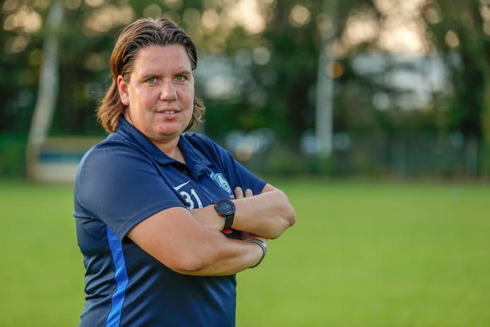 FC Eindhoven Vrouwen-coach Sandra Swinkels