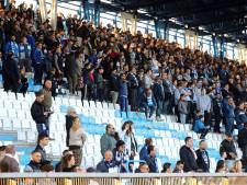 Fans SPAL lopen boos weg vanwege de VAR