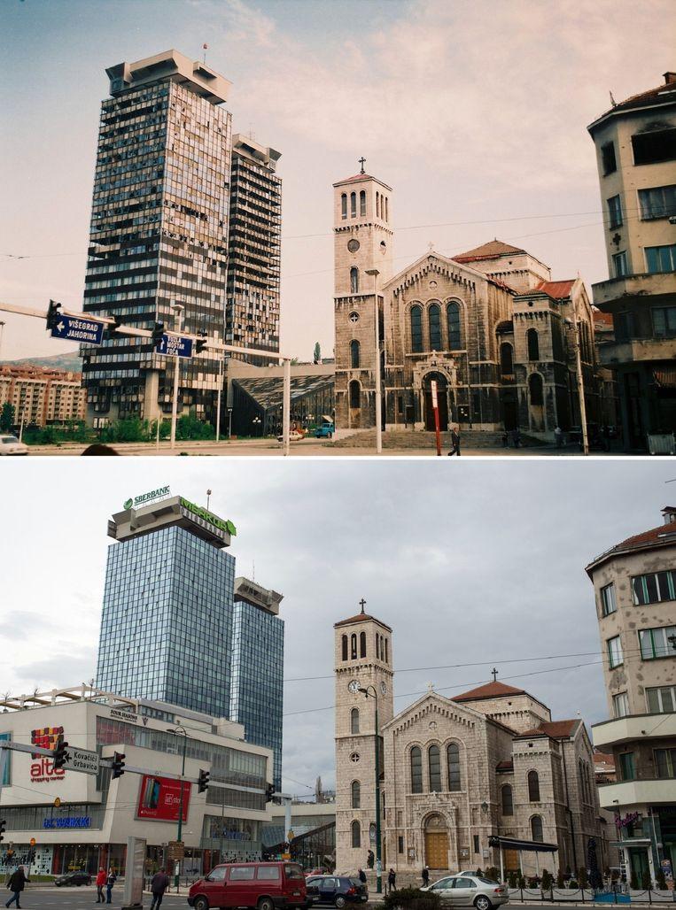 Sarajevo twintig jaar later. Beeld Jim Marshall