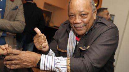 Quincy Jones (84!) deelt het bed met 22 vrouwen