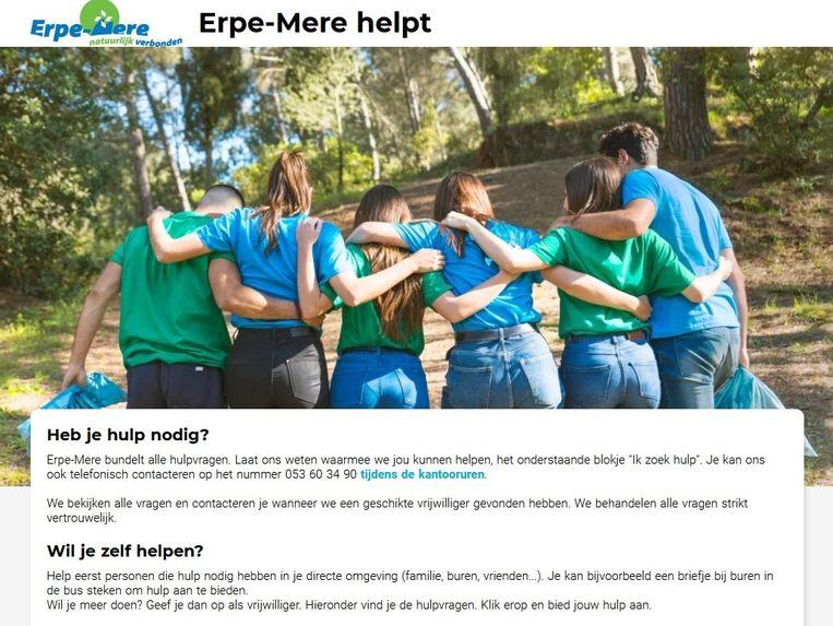 Met 'Erpe-Mere helpt' wil de gemeente mensen die hulp nodig hebben en mensen die willen helpen matchen.
