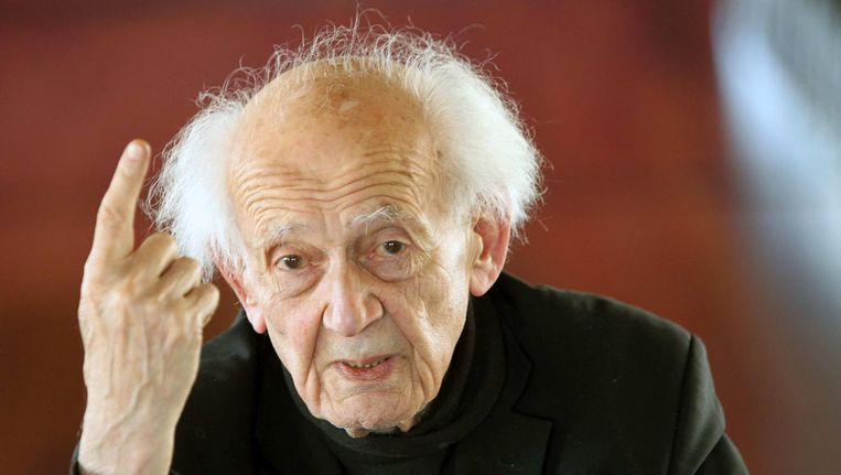 Filosoof en socioloog Zygmunt Bauman. Beeld epa